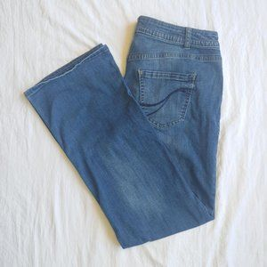 Lane Bryant Genius Fit Bootcut Jeans 14